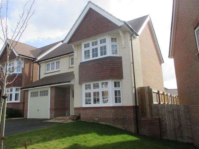 4 Bedrooms Detached House for rent in Jack Cumberland Road, Market Harborough LE16