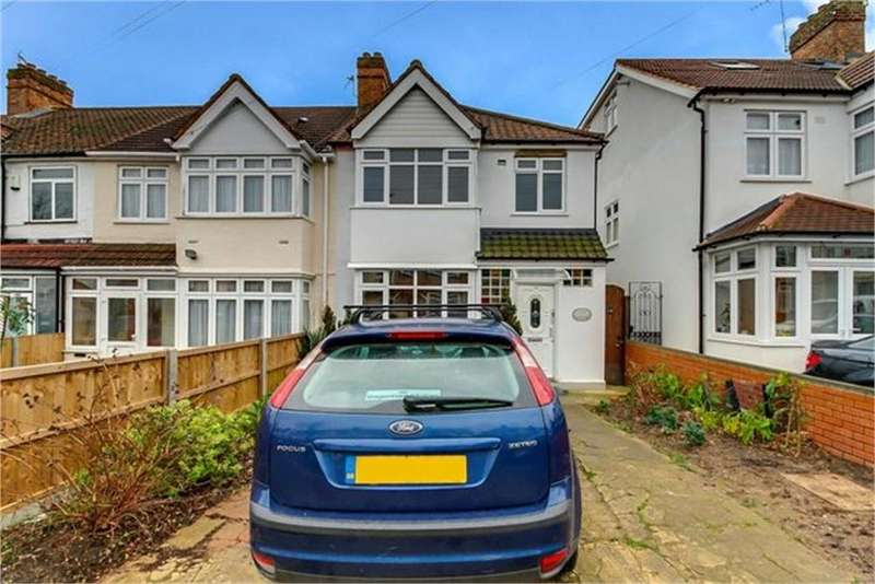 3 Bedrooms End Of Terrace House for sale in Meadowbank Road, London