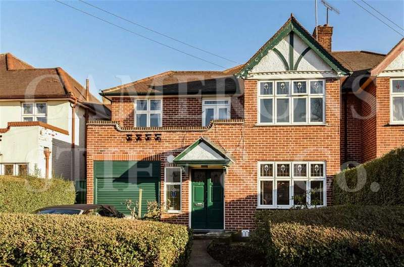 4 Bedrooms Semi Detached House for sale in Gardiner Avenue, Cricklewood, London, NW2