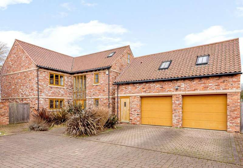 5 Bedrooms Detached House for sale in The Grain Cradle, 2 North End Close, Foston, Grantham, NG32