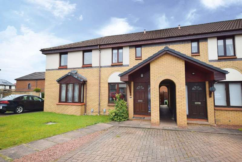 2 Bedrooms Terraced House for sale in Ellon Way, Paisley, Renfrewshire, PA3 4BW