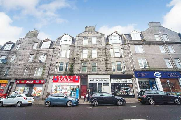 1 Bedroom Flat for sale in 77 Victoria Road, Aberdeen