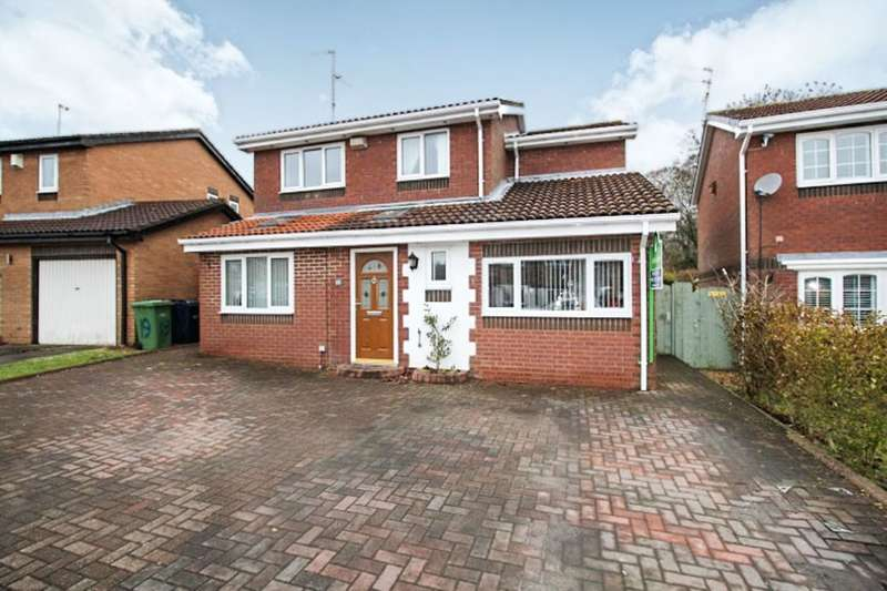 4 Bedrooms Detached House for sale in Sheringham Close, Blakeney Wood, Sunderland, SR3