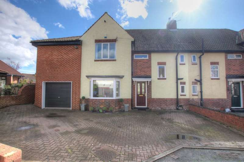 4 Bedrooms Semi Detached House for sale in Lyndhurst Drive, Durham, DH1