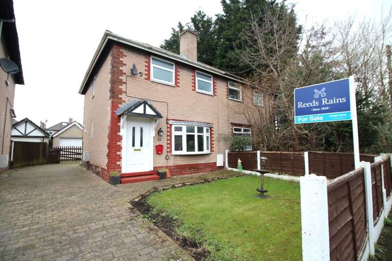 3 Bedrooms Semi Detached House for sale in Penrhyn Road, NORTHWICH, CW8