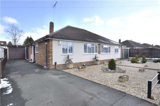 2 Bedrooms Semi Detached Bungalow for sale in Laynes Road, Hucclecote, GLOUCESTER, GL3 3PY