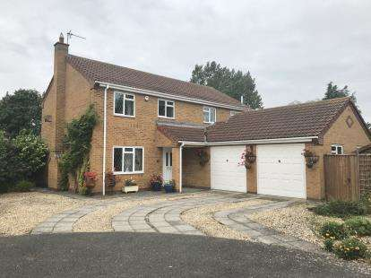 4 Bedrooms Detached House for sale in Lancaster Close, Long Sutton, Spalding, Lincolnshire