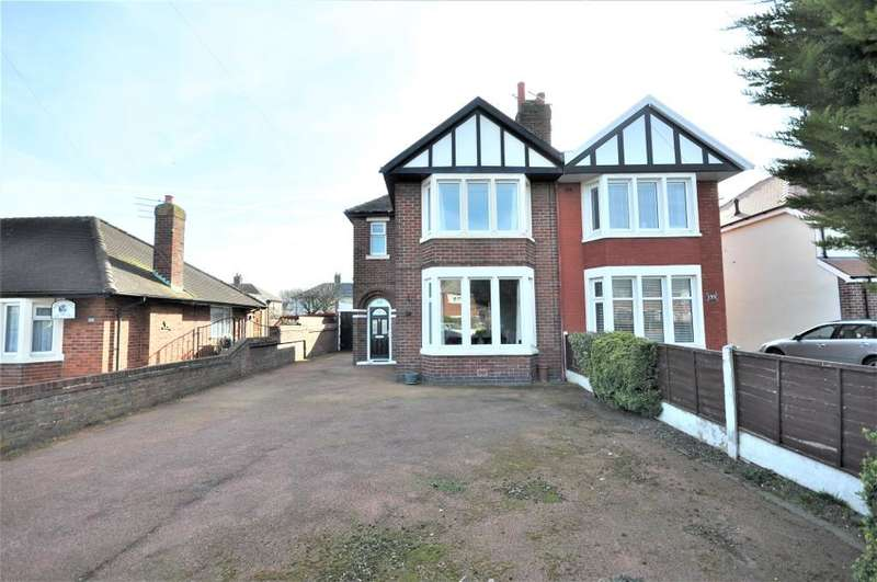 3 Bedrooms Semi Detached House for sale in Blackpool Road North, St Annes, Lytham St Annes, Lancashire, FY8 3DB