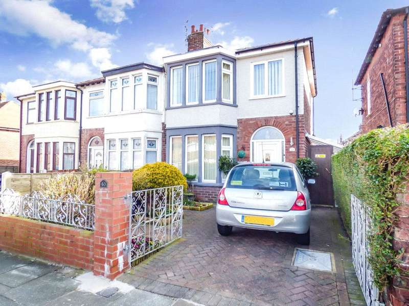 3 Bedrooms Link Detached House for sale in Stopford Avenue, Bispham, Blackpool
