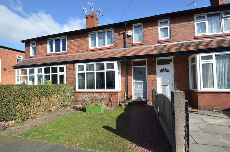 3 Bedrooms Terraced House for sale in Cranford Avenue, SALE, Cheshire