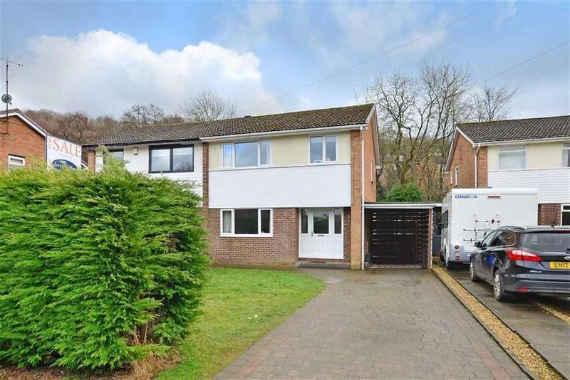 3 Bedrooms Semi Detached House for sale in 25, Brinkburn Drive, Dore, Sheffield, S17