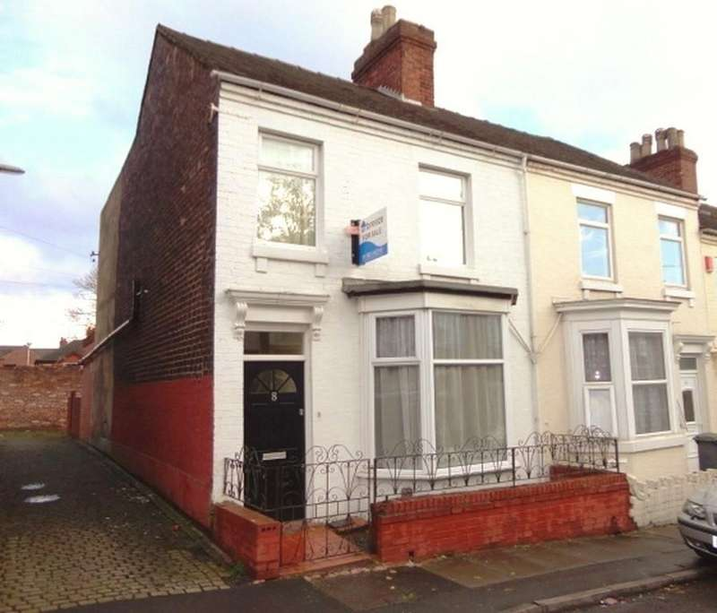 3 Bedrooms House for sale in Sheppard Street, Penkhull
