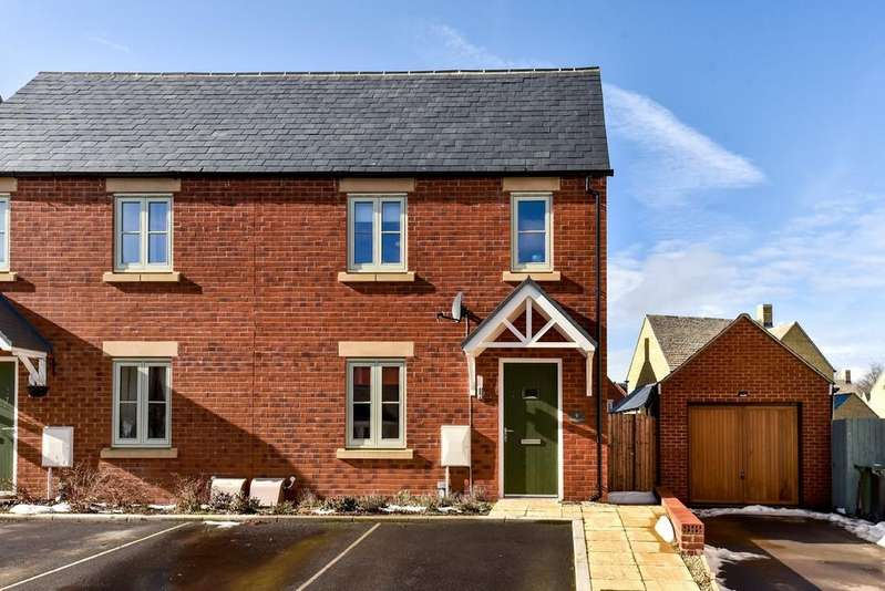 3 Bedrooms Semi Detached House for sale in Beechcraft Road, Upper Rissington, Gloucestershire