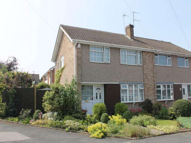 3 Bedrooms Semi Detached House for rent in Winslow Drive, Wigston,