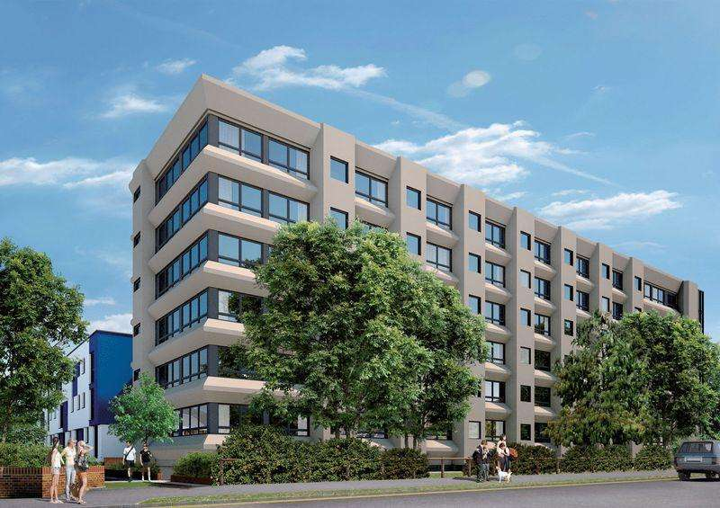 2 Bedrooms Apartment Flat for sale in Skyline Building, Stevenage