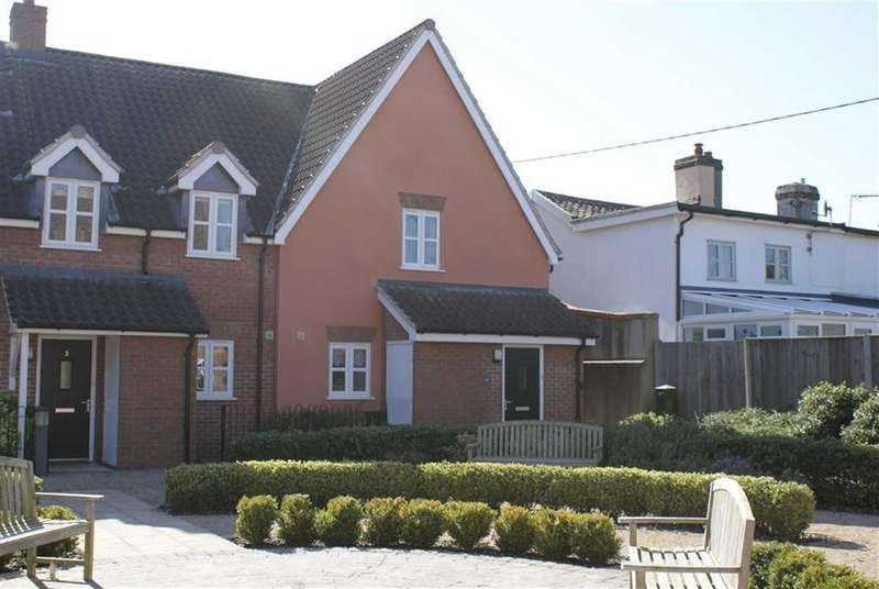 3 Bedrooms End Of Terrace House for sale in Old Brew House Court, Eye, Suffolk
