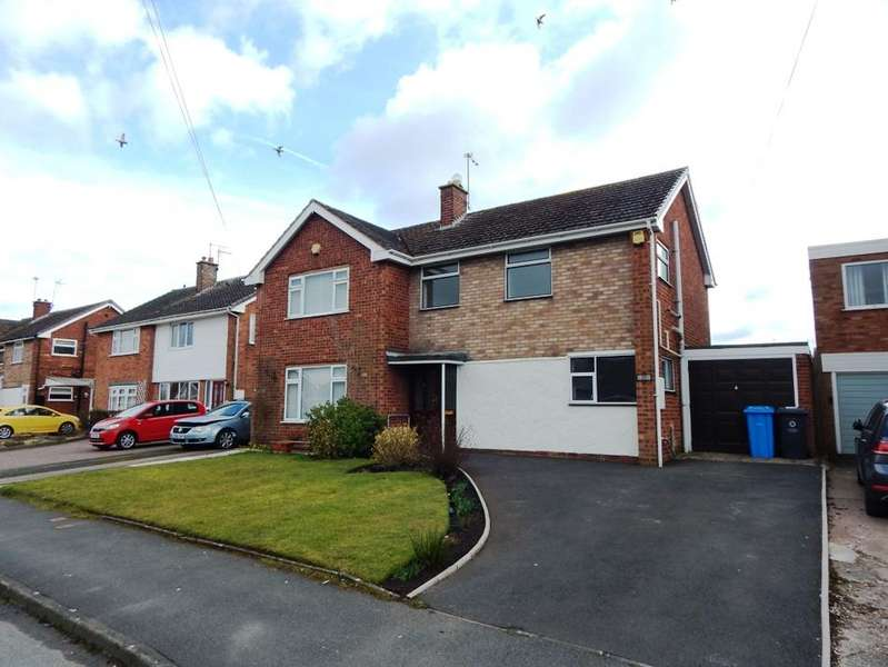 3 Bedrooms Semi Detached House for sale in Leacroft Road, Penkridge, Penkridge ST19