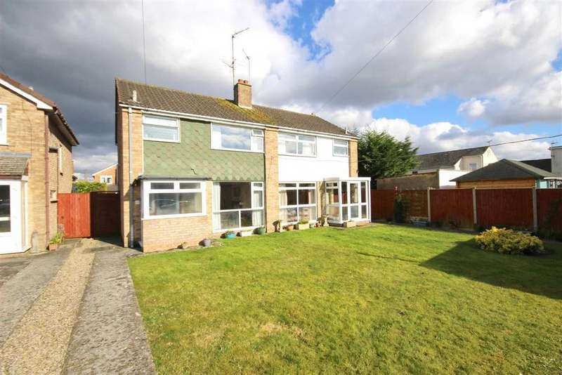 3 Bedrooms Semi Detached House for sale in Kingscote Avenue, Hatherley, Cheltenham, GL51