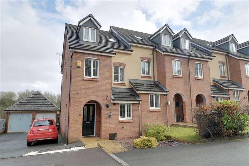 3 Bedrooms Town House for sale in Tansy Way, Valley View, Newcastle-under-Lyme