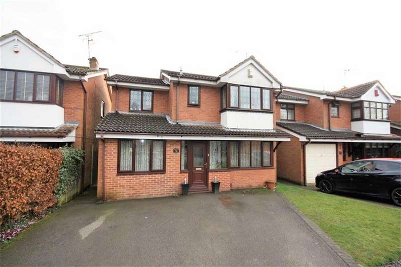 4 Bedrooms Detached House for sale in Thackeray Close, Galley Common, Nuneaton