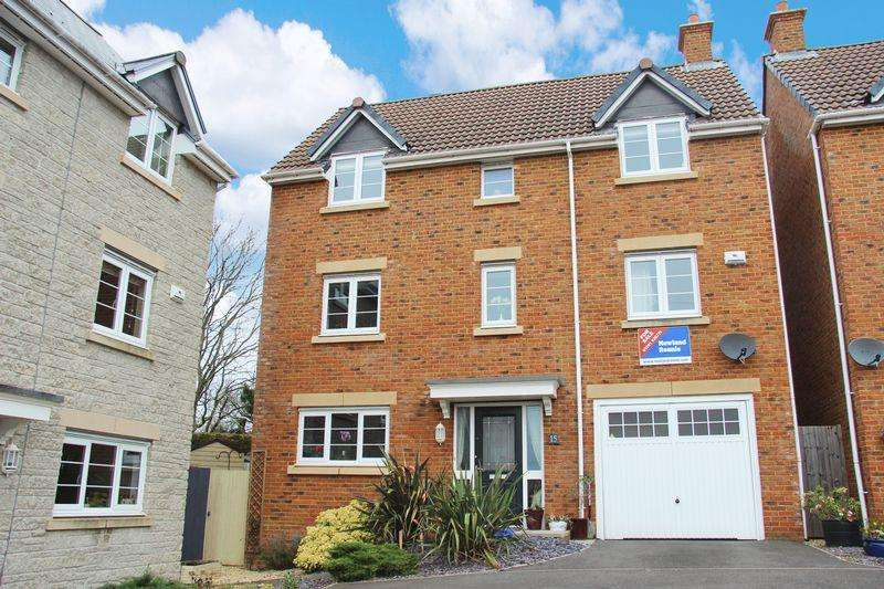 4 Bedrooms Detached House for sale in Monument Close, Portskewett
