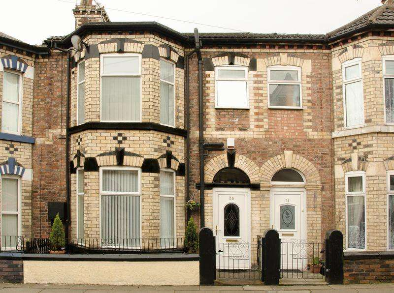 3 Bedrooms Terraced House for sale in Allerton Grove, Birkenhead