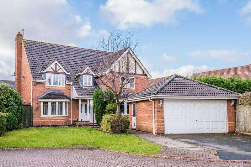 5 Bedrooms Detached House for sale in Colorado Close, Warrington