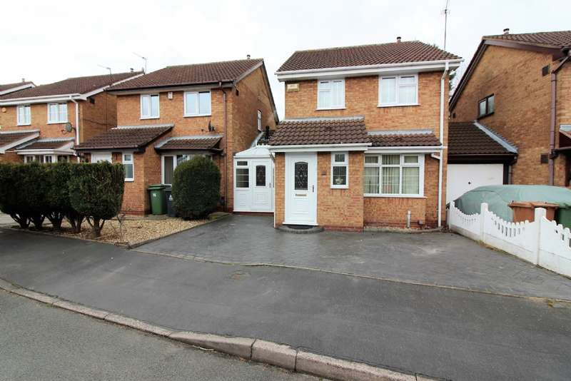 3 Bedrooms Detached House for sale in Ada Wrighton Close, Willenhall
