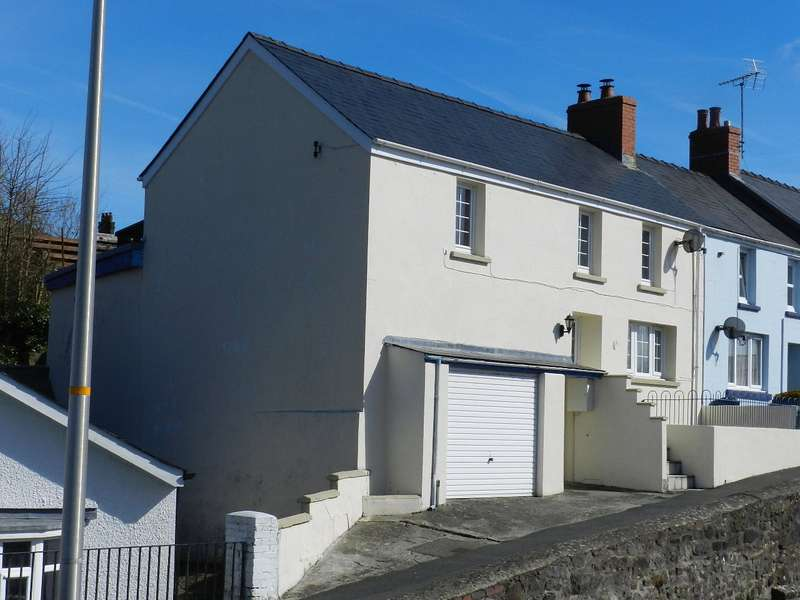 3 Bedrooms Semi Detached House for sale in Millbank, Haverfordwest, Pembrokeshire