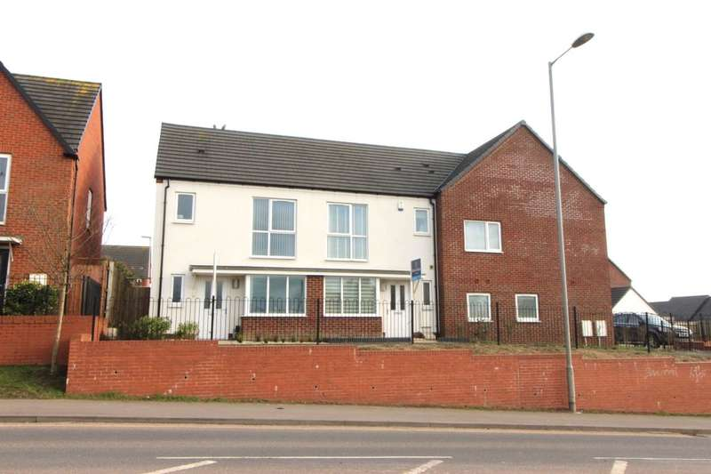 2 Bedrooms Terraced House for sale in Vickers Close, Milehouse, Newcastle, ST5