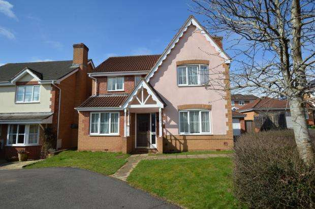 4 Bedrooms Detached House for sale in Nordens Meadow, Wiveliscombe, Taunton, Somerset