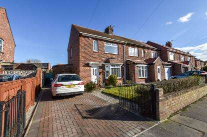 2 Bedrooms Semi Detached House for sale in Beal Drive, Forest Hall, Newcastle Upon Tyne, Tyne and Wear, NE12