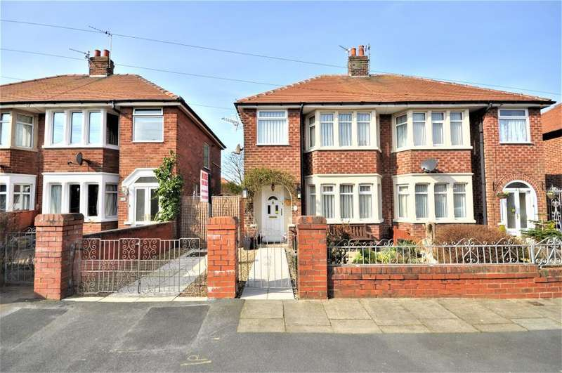 3 Bedrooms Semi Detached House for sale in Carcroft Avenue, Bispham, Blackpool, Lancashire, FY2 0EP