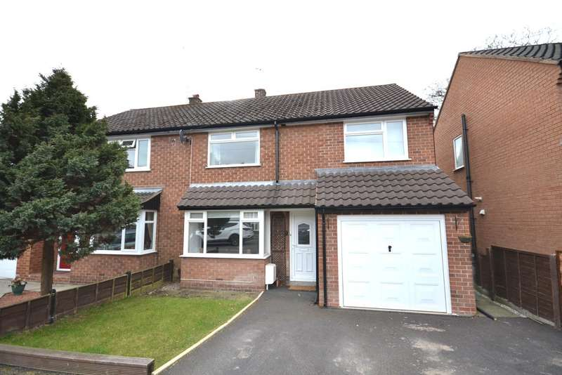 4 Bedrooms Semi Detached House for sale in Bamford Close, Bollington, Macclesfield