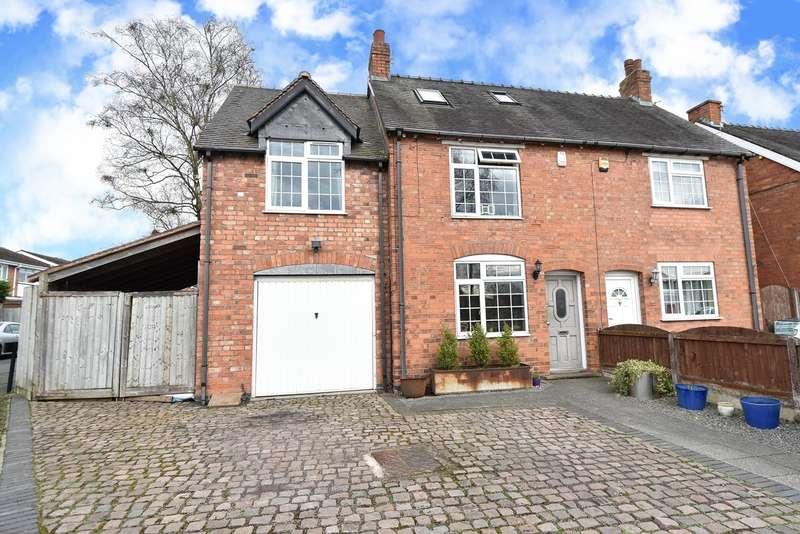 4 Bedrooms Semi Detached House for sale in Wildmoor Lane, Catshill, Bromsgrove, B61