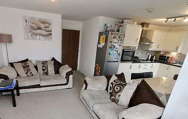 2 Bedrooms Apartment Flat for sale in 25 Wolsey Island Way, Leicester, Leicestershire, LE4 5FA