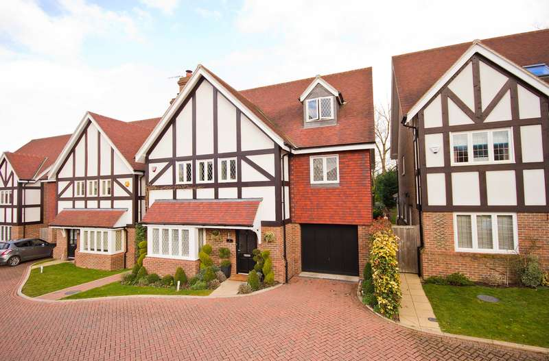 4 Bedrooms Detached House for sale in Longstock House, Branston Close, Watford
