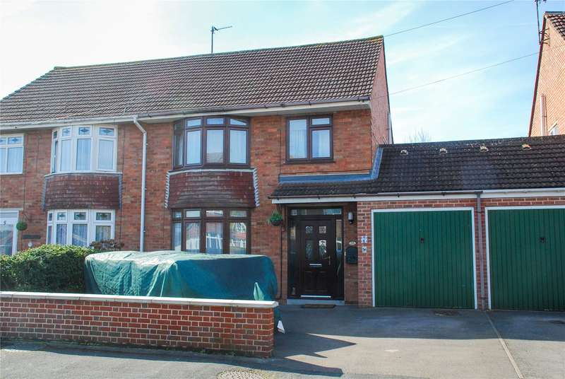 4 Bedrooms Semi Detached House for sale in Simmonds Road Hucclecote Gloucester GL3