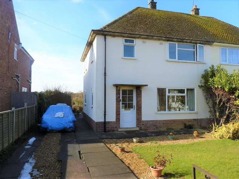 3 Bedrooms Semi Detached House for sale in Fairfax Road, Market Harborough