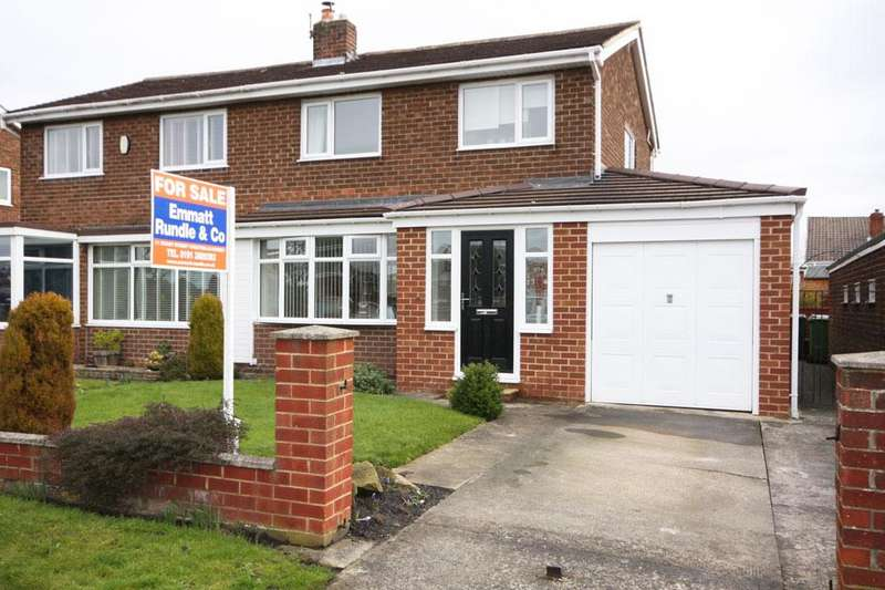 3 Bedrooms Semi Detached House for sale in Garsdale, Vigo, Birtley, Chester-le-Street DH3 2EY