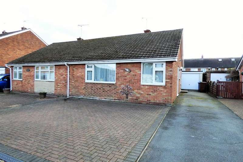 2 Bedrooms Semi Detached Bungalow for sale in Priorylands, Stretton