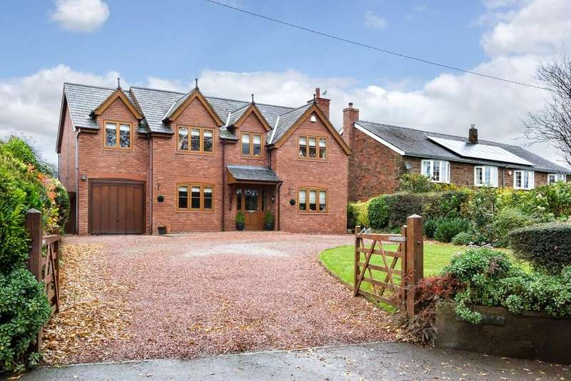 5 Bedrooms Detached House for sale in Hill View, Cotebrook, CW6 0JH