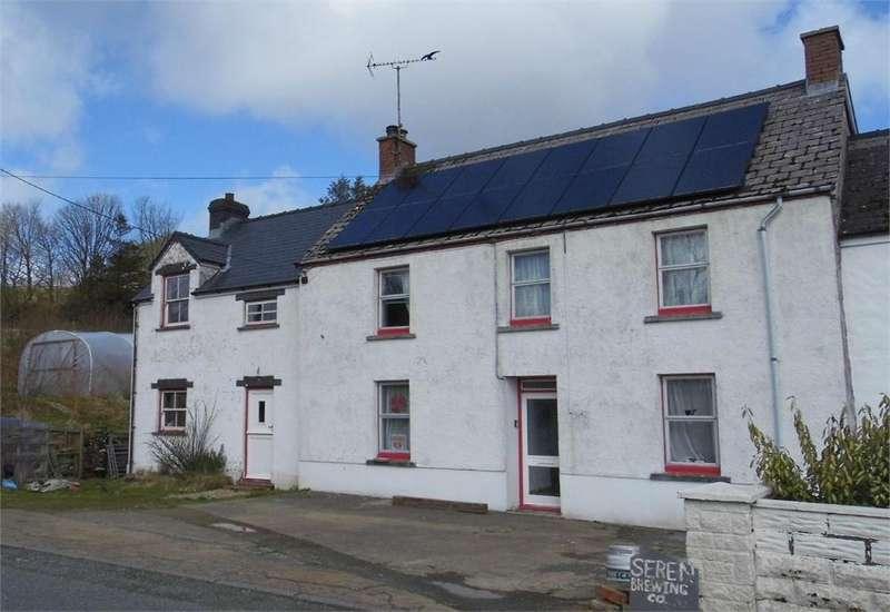 5 Bedrooms Semi Detached House for sale in Syfnau House, Rosebush, Clynderwen, Pembrokeshire