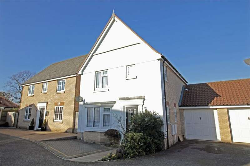 3 Bedrooms Detached House for sale in Wilkin Drive, Tiptree, Essex