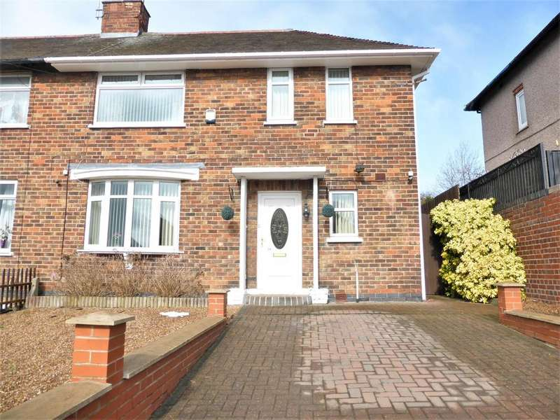 2 Bedrooms Semi Detached House for sale in Rokeby Road, Sheffield, S5 9FW