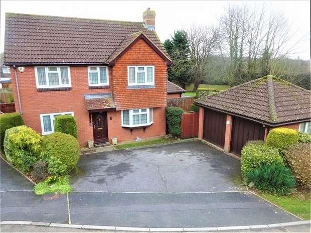 4 Bedrooms Detached House for sale in Staddon Close, Honeylands, EXETER, Devon