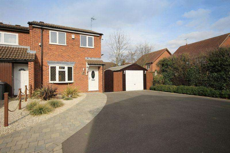 3 Bedrooms Semi Detached House for sale in LUCCOMBE DRIVE, ALVASTON