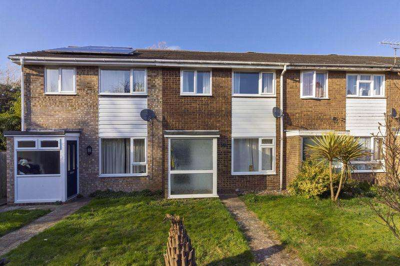 3 Bedrooms Terraced House for sale in Coleridge Close, Worthing