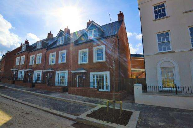 4 Bedrooms End Of Terrace House for sale in Sherford Village, Haye Road, Plymouth, Devon