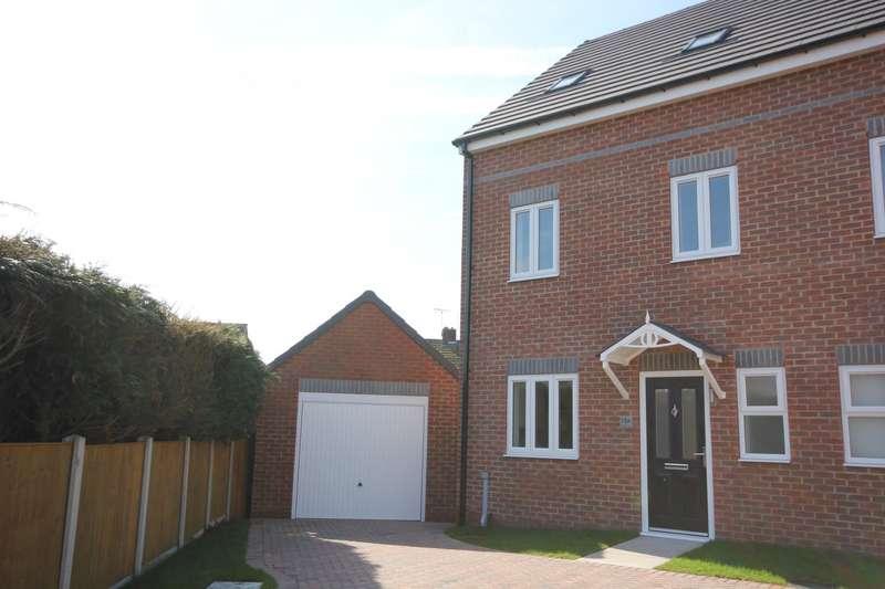4 Bedrooms Semi Detached House for sale in Kippling Close, Worksop, S810